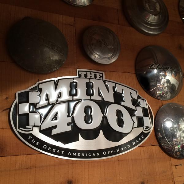 "Mint 400 Logo ""Aluminum"" Garage Sign"