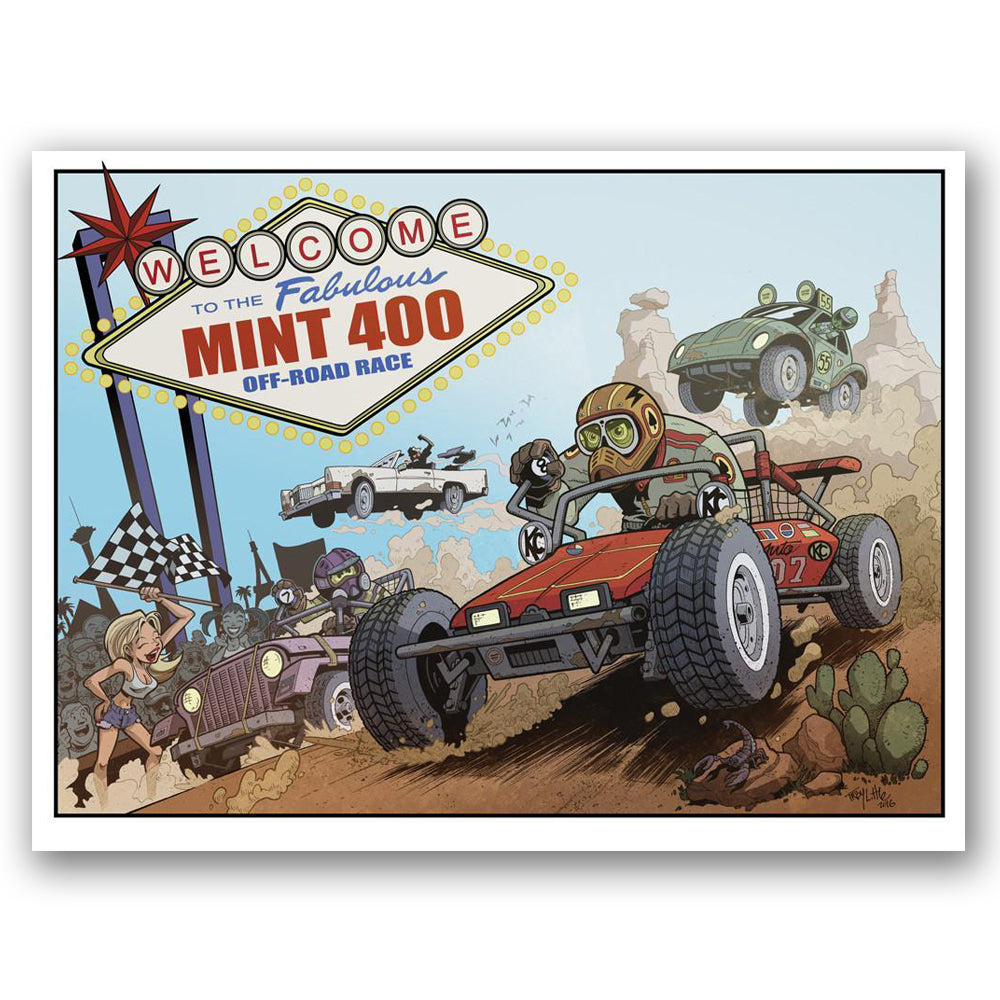 2016 Official Mint 400 Poster