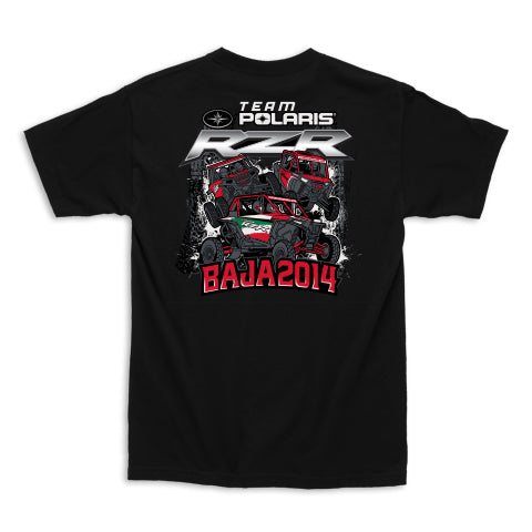UTVUnderground Team Polaris Baja 2014 T-Shirt (Black)
