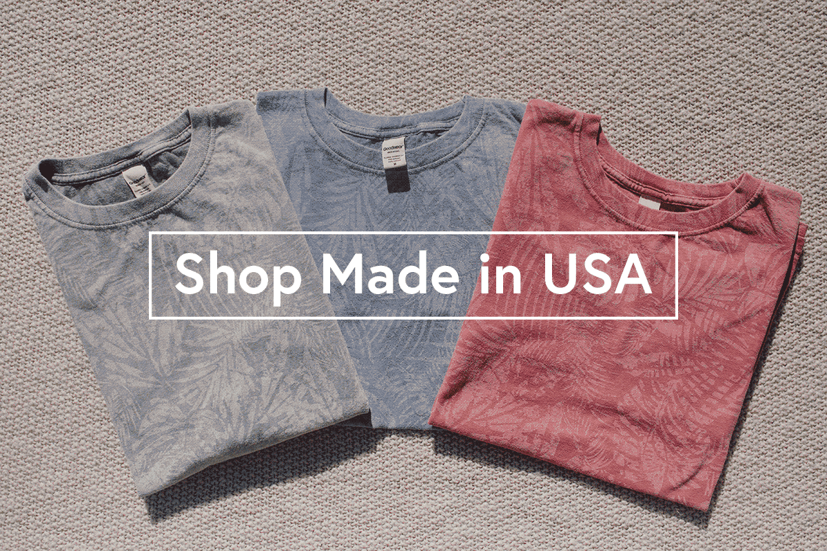 Shop Made in USA clothing
