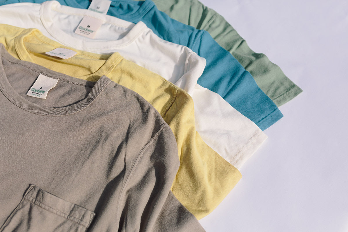 American-made t-shirts