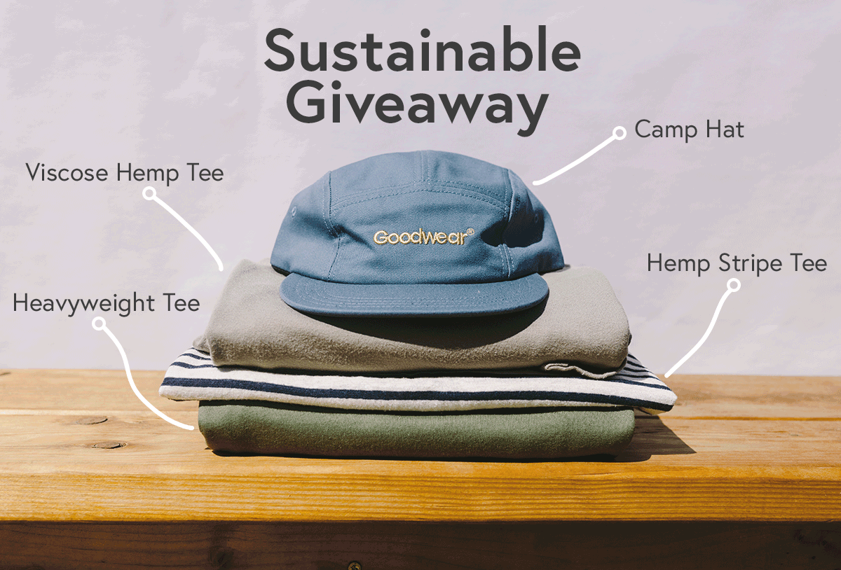 Goodwear Sustainable Giveaway