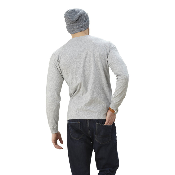 men's american made long sleeve crew neck shirt