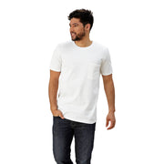 Adult Short Sleeve Crew Neck with Pocket Slim Fit