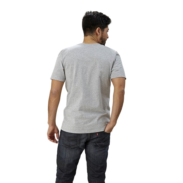 usa made slim fit t-shirt with pocket