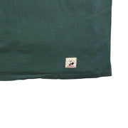mens green short sleeve crew neck shirt
