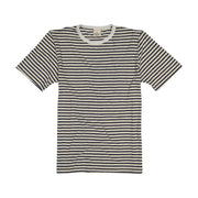 Toddler Short Sleeve Crew Neck Stripe Hemp