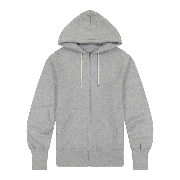 S-Curve Raglan Zipfront Hooded Fleece
