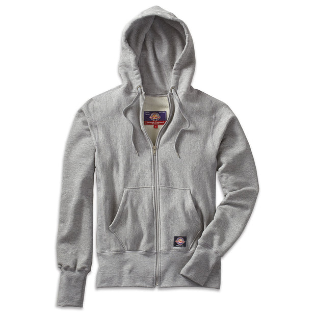 S-Curve Full Zip Hoodie in Looped French Terry