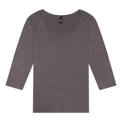 Women's 3/4 Sleeve Scoop Neck Top