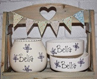 Whimsical Treat Jar and Bowl Set