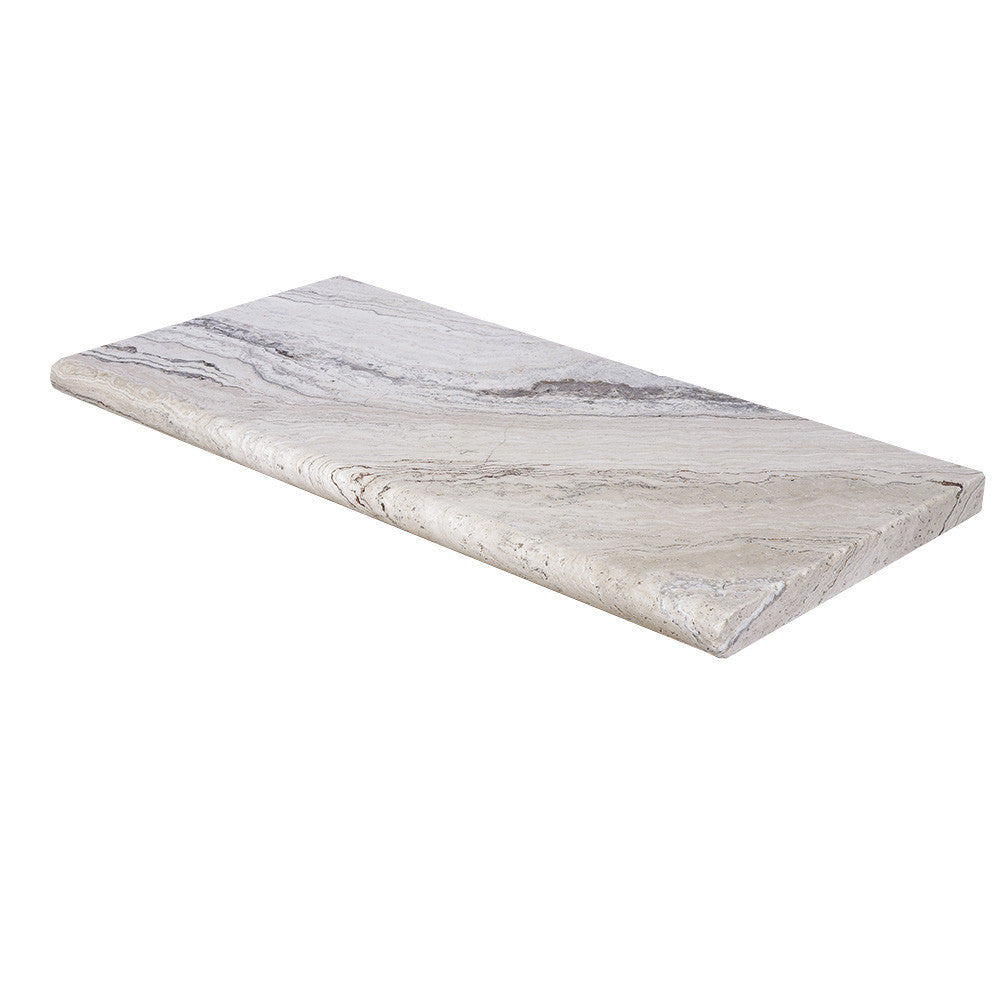 Leonardo Bullnose Travertine Pool Copings 16x24