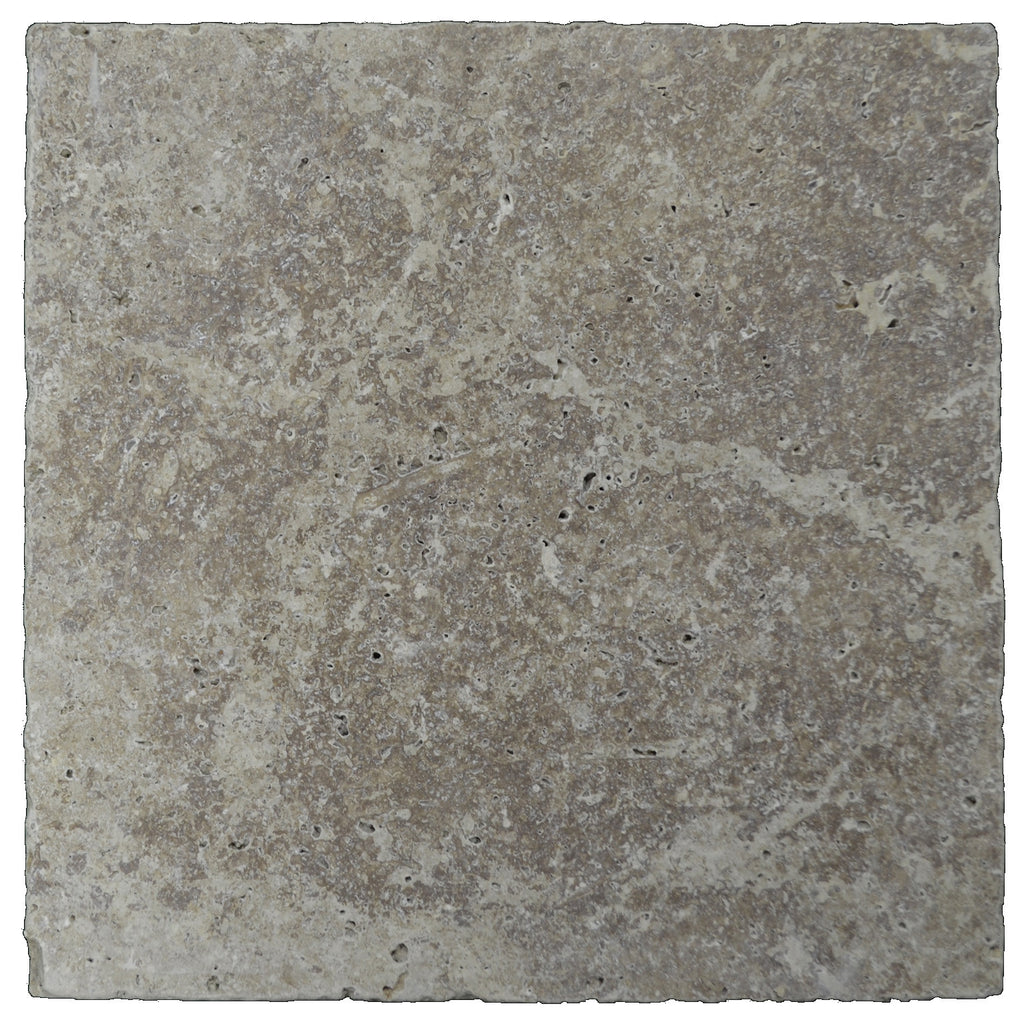 Noce Tumbled Travertine Pavers 16x16