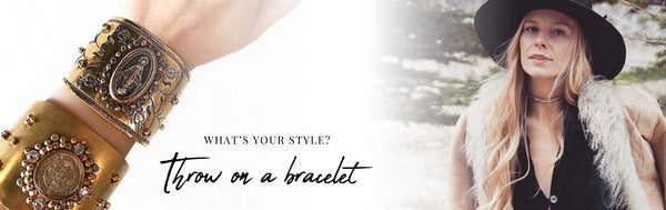 Fashion Tip #1 Add a bracelet!