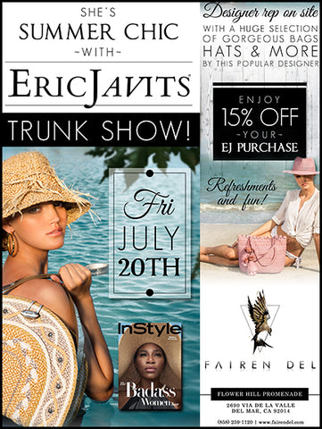 Eric Javits Trunk Show Event