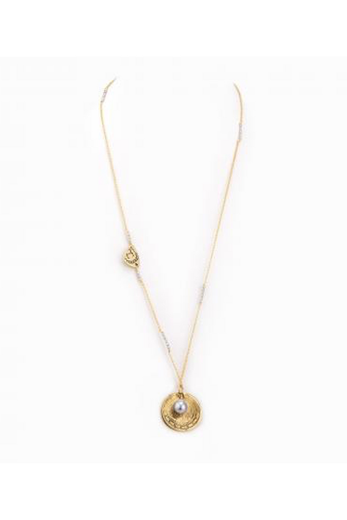 588c5f3b8 Taylor & Tessier Amore Necklace in Gold