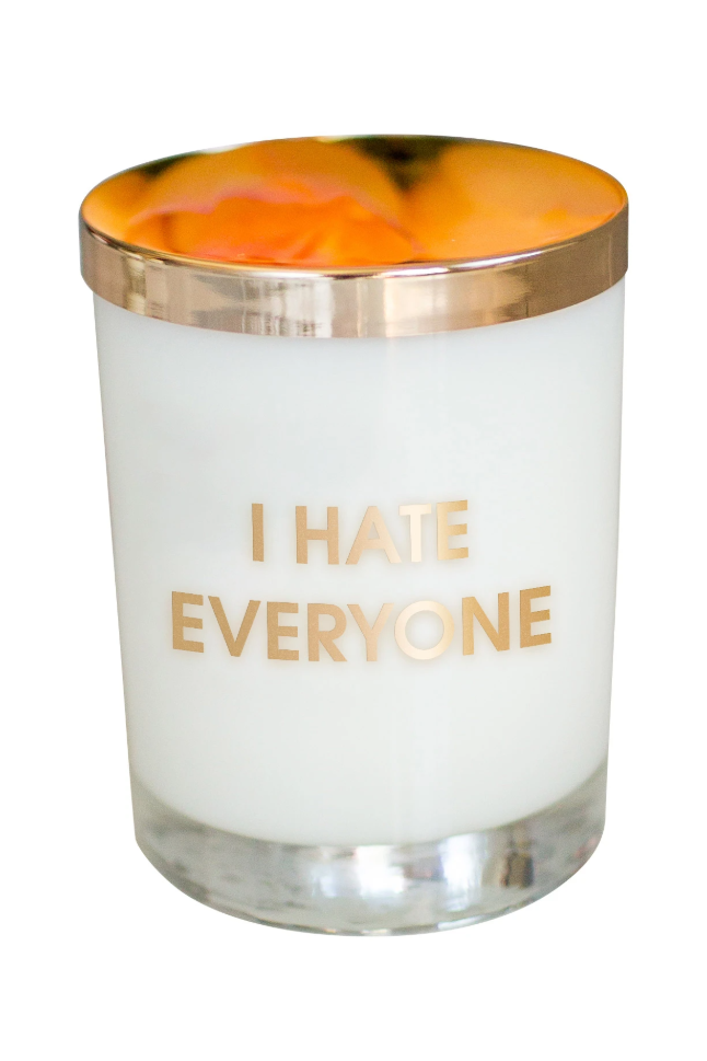 Chez Gagne I Hate Everybody Candle-GIFT-Chez Gagne-Fairen Del