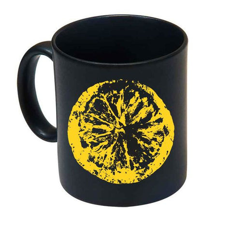 BLACK LEMON MUG