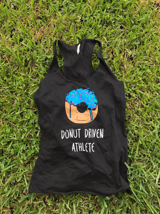 Donut Driven Athlete Tank Top