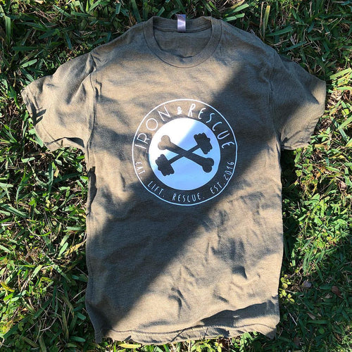 Iron & Rescue Badge T-Shirt