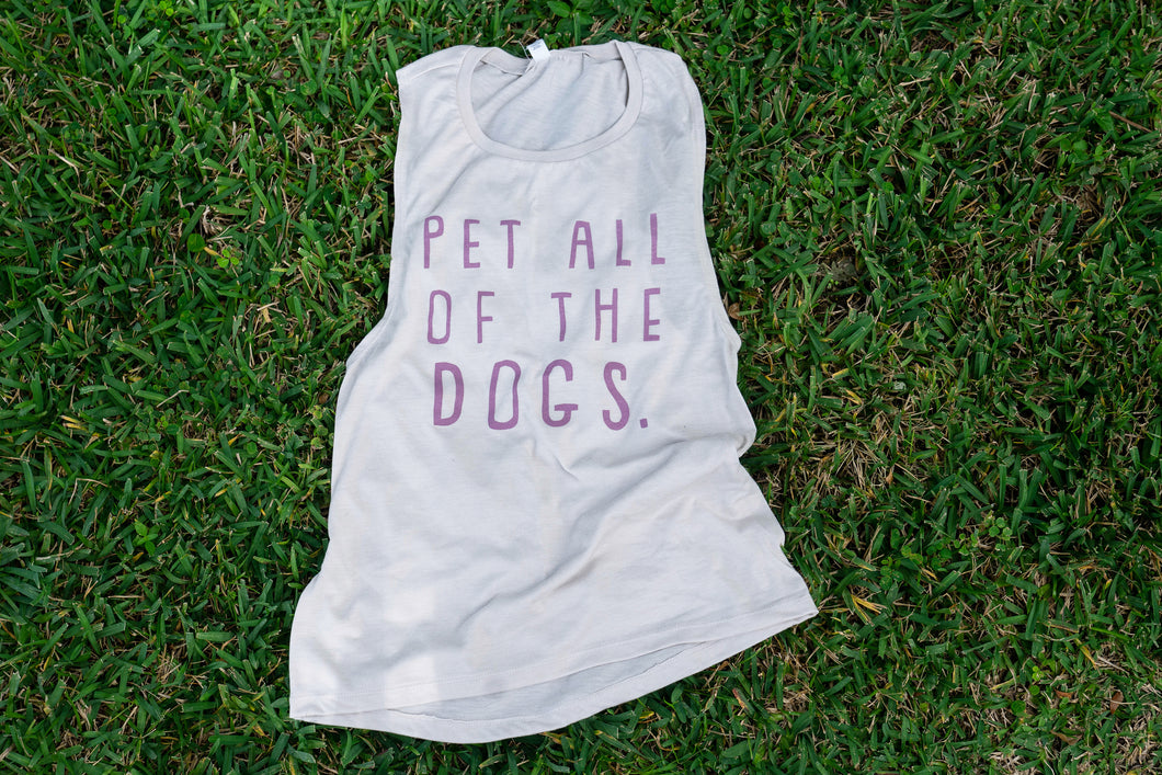Pet All of the Dogs Muscle Tank