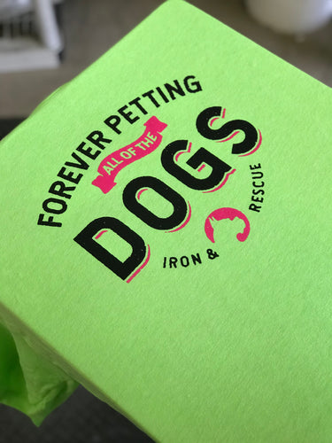 Forever Petting Dogs summer tee