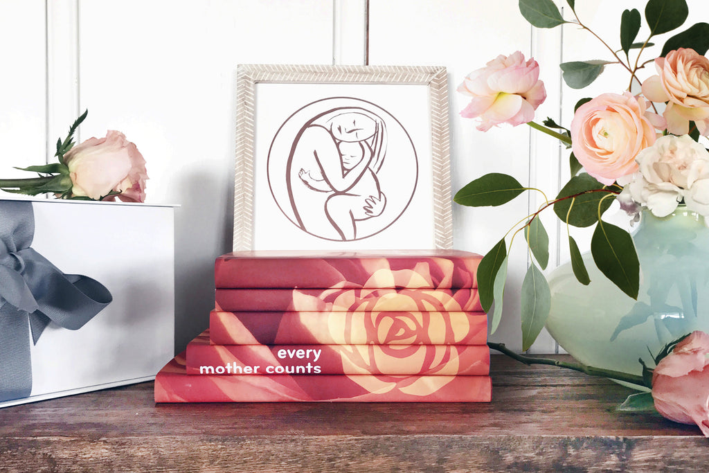 A Mother's Box: The Orange Rose Collection