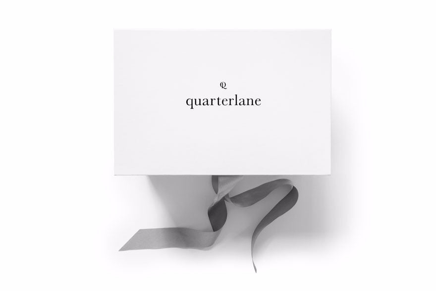 Branded quarterlane subscription box