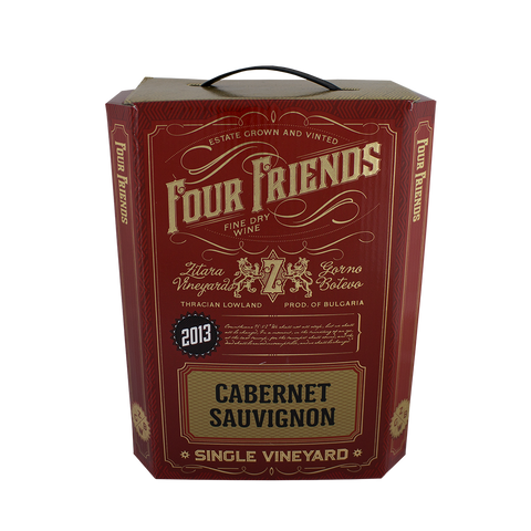 Four Friends Winery, Red Wines, 3 litres, Cabernet Sauvignon