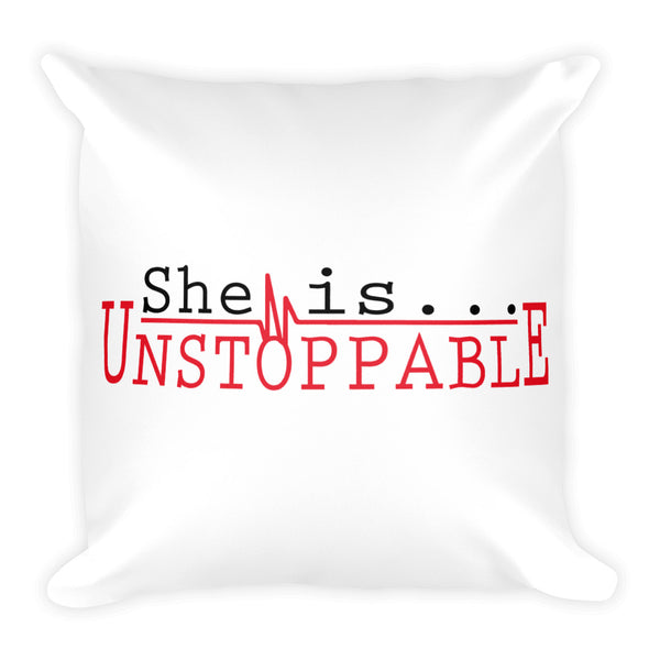 pillow she is unstoppable sheisg
