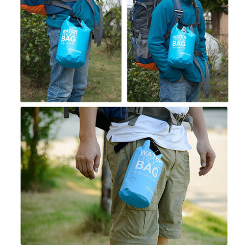 2L Waterproof, Ultralight & Portable Outdoor Dry Bag For Safe Storage