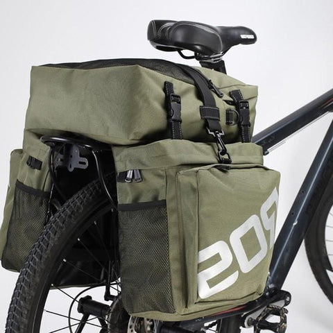 3 in 1 Multifunction Mountain / Road Bicycle Pannier Rear Seat Trunk Bag