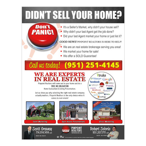 Didn't Sell Your Home Flyer