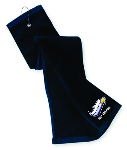 Port Authority® Grommeted Tri-Fold Golf Towel - Embroidered