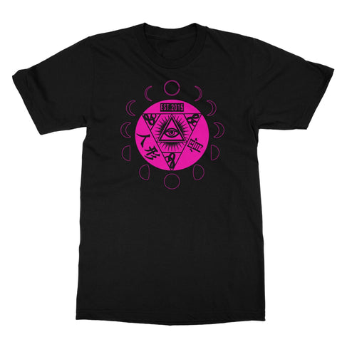 Pink Moon Phase Softstyle T-Shirt