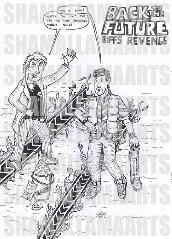 Back To The Future - Biff's revenge Print