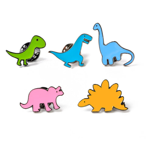 Dinosaur Enamel Pin-Badge