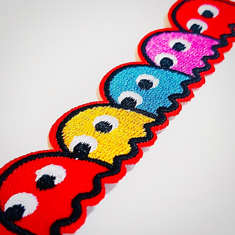 Pac-Man Iron-On Patch