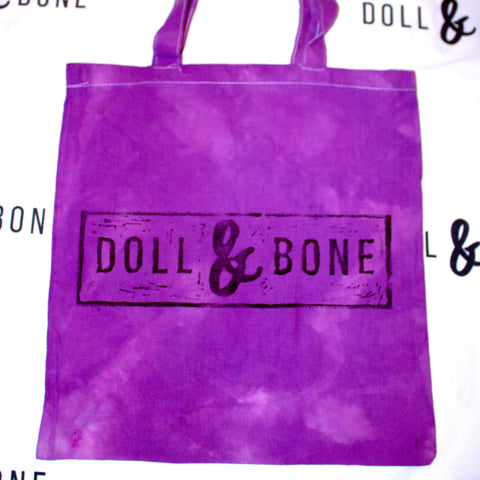 Doll&Bone Hand Printed Cotton Tote Bags