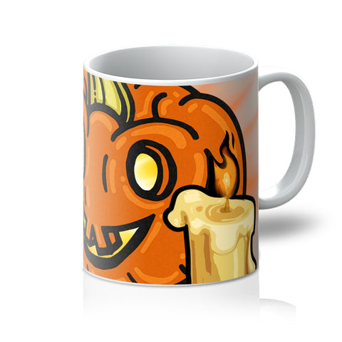 Pumpkin Light Mug