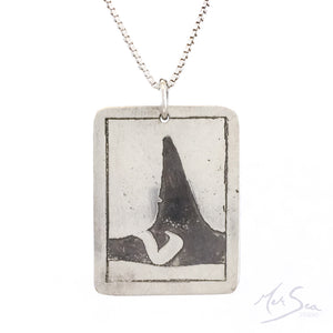 Southern Resident Killer Whale ID Pendant
