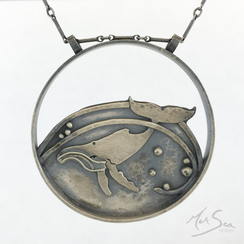 Humpback Whale Medallion