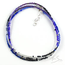 Load image into Gallery viewer, Coastal Colours Beaded Necklace
