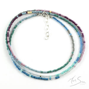 Coastal Colours Beaded Necklace