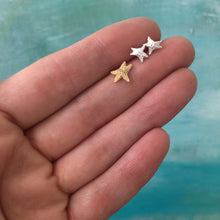 Load image into Gallery viewer, Sea Star Stud Earrings