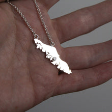 Load image into Gallery viewer, Vancouver Island Necklace with Stone