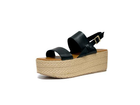 Kaanas Montpellier Wedge Black