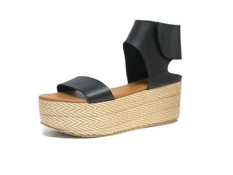 Kaanas Marquesas Wedge Black
