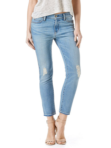 Level 99 'The Aubrey' Rattle Distressed Hem Jean