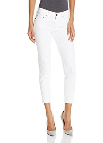 Principle 'The Dreamer' White Rabbit Ankle Grazer Jean